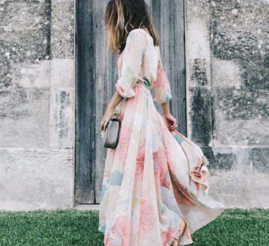 """""""style cabin"""" stylecabin spring summer wear complete look outfits stylecabin """"style cabin"""" stylecabinrunway stylecab.in pink dress wedding guest outfits.png"""