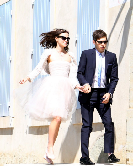 Keira Knightly wedding dress stylecabin stylecab.in %22style cabin%22