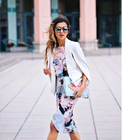 Spring Wedding Guest Dresses with Jacket