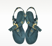Blue Jeans Suede Sandal comfortable sandals for women