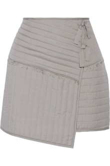 Tibi Juna wrap mini skirt