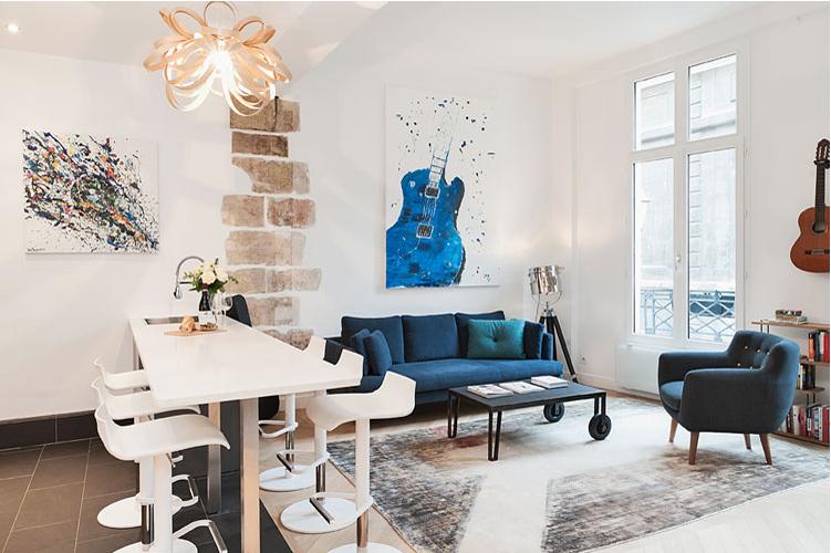 vacationrentalparis paris summer summerhome summerflat rent bedandbreakfast affordable flat Le Marais.png