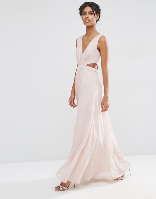 asos-side-cut-out-maxi-dress