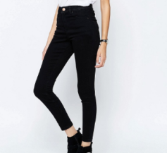 High waist skinny jeans asos.png
