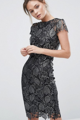 Metallic lace dress.png