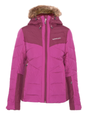 Zephyr fur trimmed pink hooded ski jacket.png