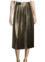 ELIZABETH AND JAMES LUCY PLEATED LAMÉ MIDI SKIRT.png