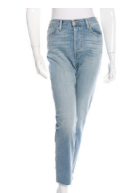 Frame cropped high waisted jeans.png