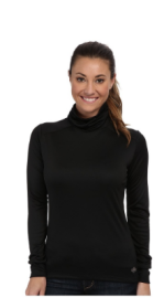 HOT CHILLYS - PEACH ROLL T-NECK WOMEN'S LONG SLEEVE PULLOVER.png