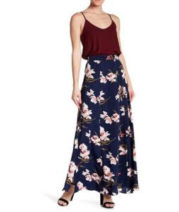 Soprano Printed Maxi Skirt