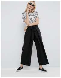 ASOS CLEAN PLEAT PANTS WITH WAIST TIE DETAIL.png