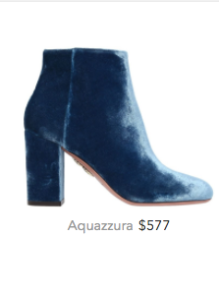 Aquazzura blue velvet booties.png
