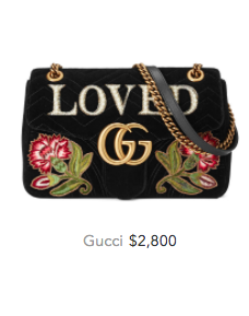 Gucci loved bag