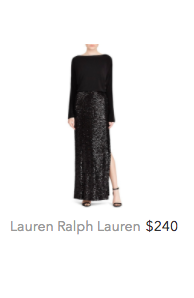 Lauren Ralph maxi sequin skirt black.png