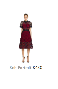 Self Portrait red dress.png